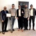 Vertreter von Amanox und Amanox Solutions ist erster Rubrik Elite Partner in Emea. V.l.n.r.: Daniel Dini (Head of Sales, Amanox), Bipul Sinha (CEO Rubrik), Daniel Jossen (CEO Amanox), Gerry Solenthaler (Country Manager Switzerland,Rubrik), Felix Guggenheim (Presales Engineer, Rubrik), Roland Stritt (Director Channels Emea, Rubrik), Robert Hinzer (Regional Director Central Europe, Rubrik)