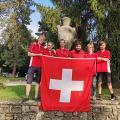 Das Schweizer Team in Ungarn (Foto: Johannes Kapfhammer)
