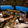 Blick in das Cockpit einer Boeing 777 (© Swiss)