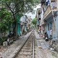 Symbolbild: Schienenstrang in Hanoi (Foto: Ekrem Canli/CCO)