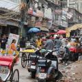 In Indien soll der digitale Gesundheitsausweis kommen. Hier eine Strasse in Delhi (Bild: Pixabay/ Rhiannon)