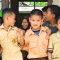 Indonesische Kinder: Gehen mitunter lieber ins Internet-Cafe als in die Koranschule (Bild: Pixabay/Ramadhan Notonegoro)