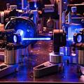 Aufwendiger Versuchsaufbau zur Quantenkryptografie (Foto: ait.ac.at, iqoqi.at)