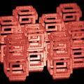 3D-Struktur bestehend aus dem saugfähigen Material Polyacrylat (Foto: mit.edu)