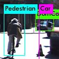 Von Software als Fußgänger identifizierter Radler (Bild: viterbischool.usc.edu)