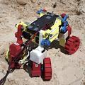 Mini Rover: Gefährt ist sehr flexibel in der Bewegung (Foto: gatech.edu)