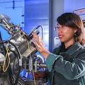 Doktorandin Thi Thuy Nhung Nguyen (Foto: Jacob Müller, tu-chemnitz.de)
