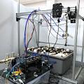 Prototyp des neuen Champignon-Ernteroboters der Penn State (Foto: psu.edu)