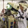 Roboter Fedor (Bild: EPA/Roscosmosspace Center Yuzhnytsenki)