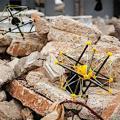 Soft-Roboter nach der problemlosen Landung (Foto: squishy-robotics.com)