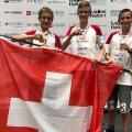 Das Schweizer Bronze-Team 'Robofactory' (Bild: zVg)