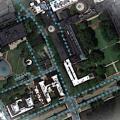 Satellitenaufnahme: verrät einiges zu Straßen (Foto: googlemaps.com, mit.edu)