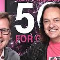 Mike Sievert, John Legere: Chefwechsel im kommenden Mai (Bild: T-Mobile US)