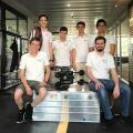 Ein Team von Bachelorstudenten hat einen Tauchroboter gebaut, mit welchem es in wenigen Tagen als erstes Schweizer Team an der internationalen MATE ROV Competition antritt. (Bild: Rebecca Lehmann / ETH Zürich)