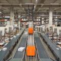 Zalando will umweltfreundlicher werden. Bild: Lagerlogistik in Berlin (Foto: zVg)