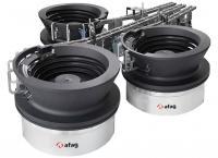 Afag-Produkt: Das Unternehmen ist auf Komponenten für die Montageautomation in den Bereichen Zuführen, Handhaben und Transportieren ausgerichtet