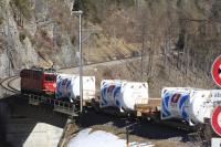 Die Schweizer Salinen setzen wenn immer möglich auf umweltschonenden Schienenverkehr (Bild: zVg)