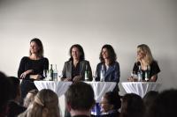 Women in Technology: Die Dell-Managerinnen Jeannine Peek, Elke Steineggere, Alexandra Kreft und Moderatorin Miriam Rickli (Foto: Karlheinz Pichler)