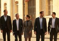 Die Geschäftsleitung von Ergon mit CEO Gabriela Keller in der Mitte (Bild: zVg)