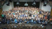 Die Teilnehmer am Hack Zurich 2018 (Foto: DIFE)