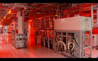 Blick ins Innere des neuen Infineon-Werks in Villach (Bild:Screenshot)