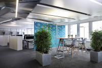 Blick in die neuen Büroräume von Lenovo (Bild: zVg)