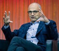Satya Nadella brachte Microsoft wieder auf Kurs (Bild: Flickr/Official Leweb Photo)